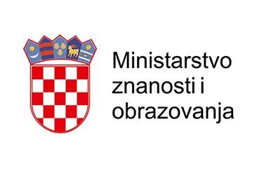 Slikovni rezultat za ministarstvo znanosti i obrazovanja logo